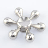 New Arrival High Speed Stainless Steel Hexagon ADHD EDC Fidget Hand Spinner  Rotary Spinner - CUEBALL JONES