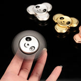 Panda Metal Fidget Hand Spinner For Autism and ADHD Kids Adult Anti Stress Wheels  Tri-spinner - CUEBALL JONES