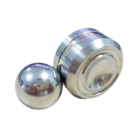 DIY Stainless Steel Ball Fidget Hand Spinner For Autism Rotation Time Long Anti Stress   - CUEBALL JONES