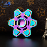 New Aluminum EDC Multicolor Metal Fidget Hand Spinner Adults Anti Stress Toy  Rotary Spinner - CUEBALL JONES
