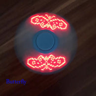LED Light EDC Fidget Hand  Spinner For Autism and ADHD Relief Focus Anxiety Stress  Tri-spinner - CUEBALL JONES