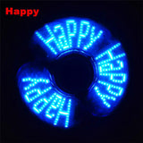 Fidget Spinner LED Flash light Fidget Hand Spinner Finger Toy EDC Focus Gyro Gift F Adult kids  Tri-spinner - CUEBALL JONES