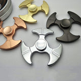 Zinc Alloy Spinners Bearing Fidget R188 Hand Spinner Toys Adult  Tri-spinner - CUEBALL JONES