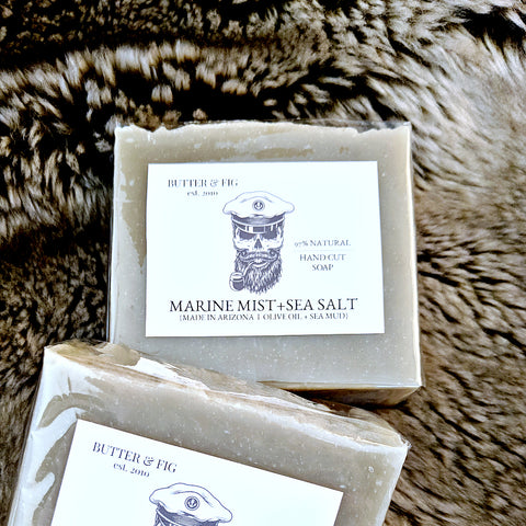 MARINE MIST + SEA SALT SOAP