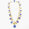 Tanzanite and Gold Necklace
