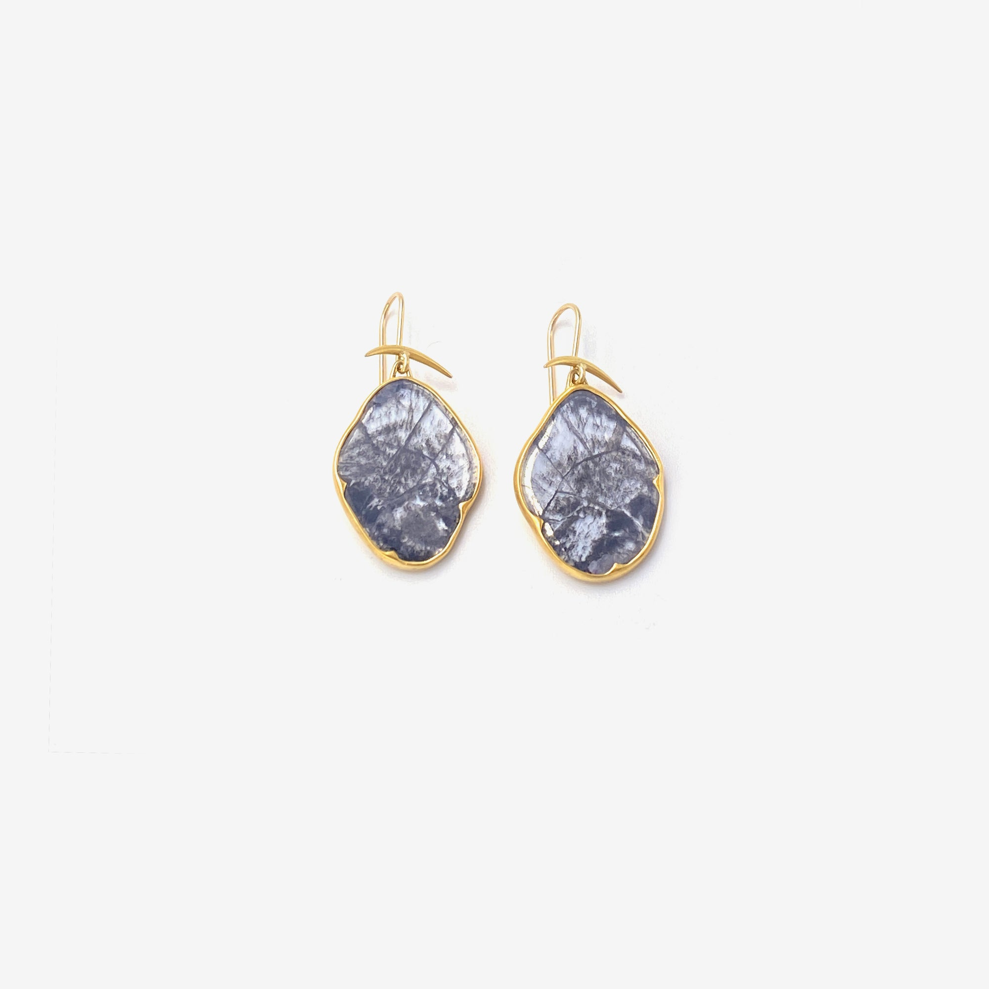 Diamond Slab Earrings