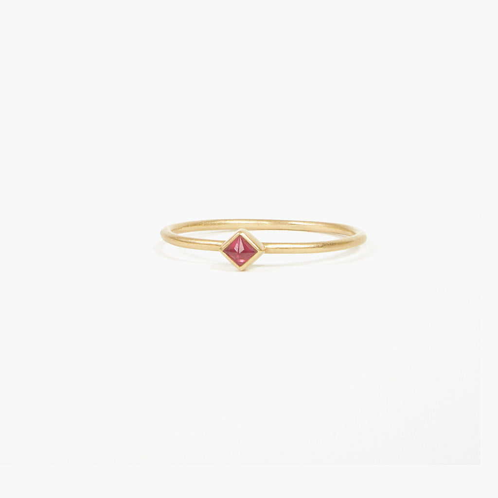 Small Ruby Ring