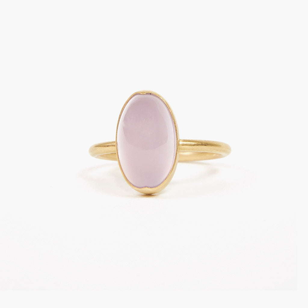 Rose Agate Ring