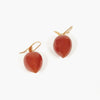 Carnelian Peach Earrings