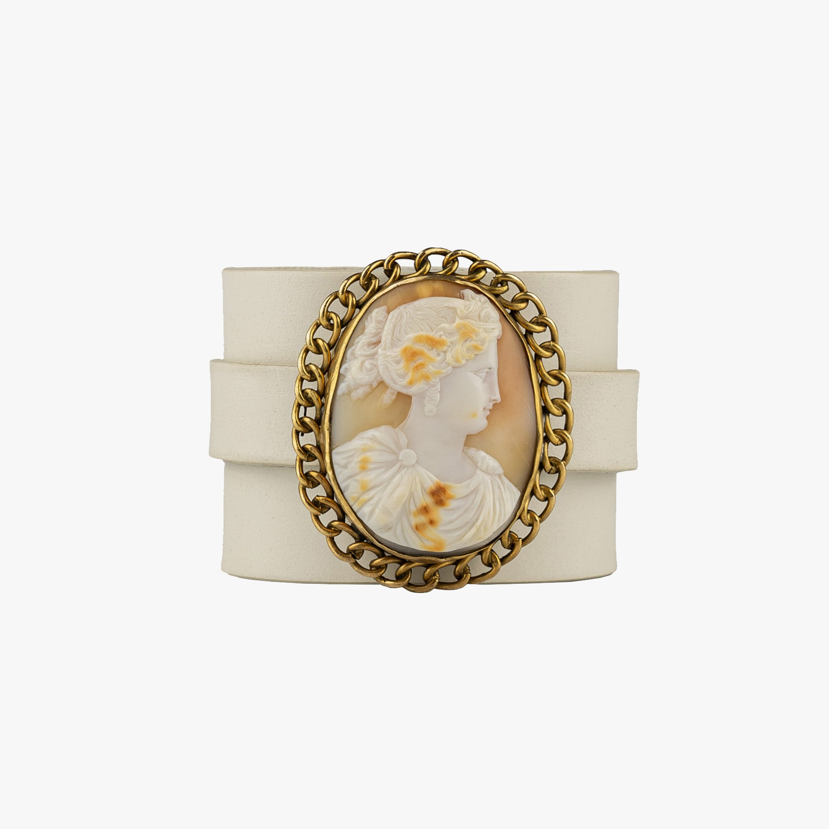 Portrait of a Greek Woman Cameo Bracelet