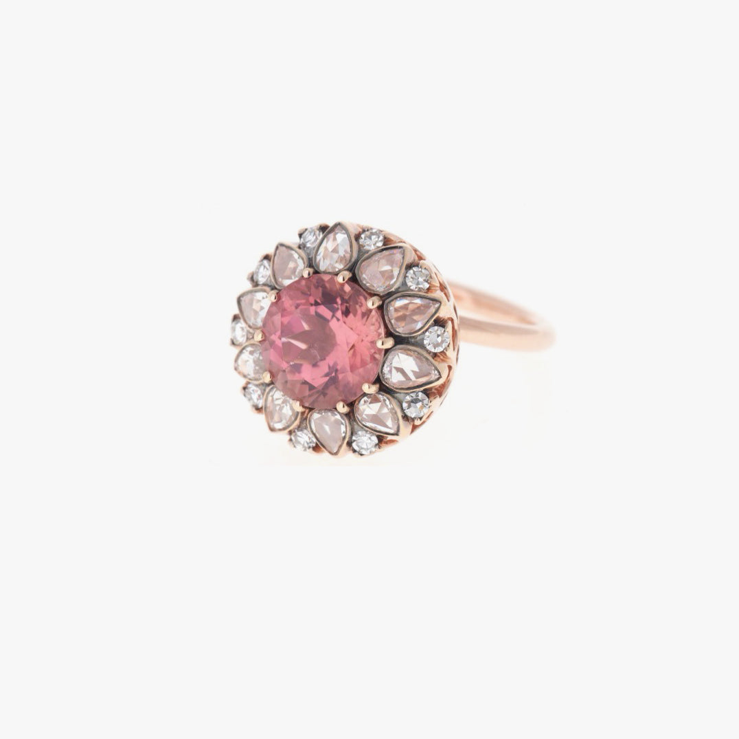 Beirut Pink Tourmaline Ring
