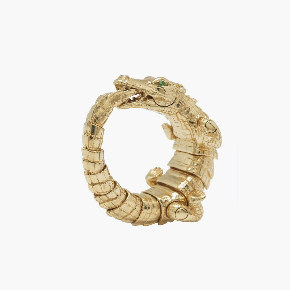 Alligator Wrap Ring