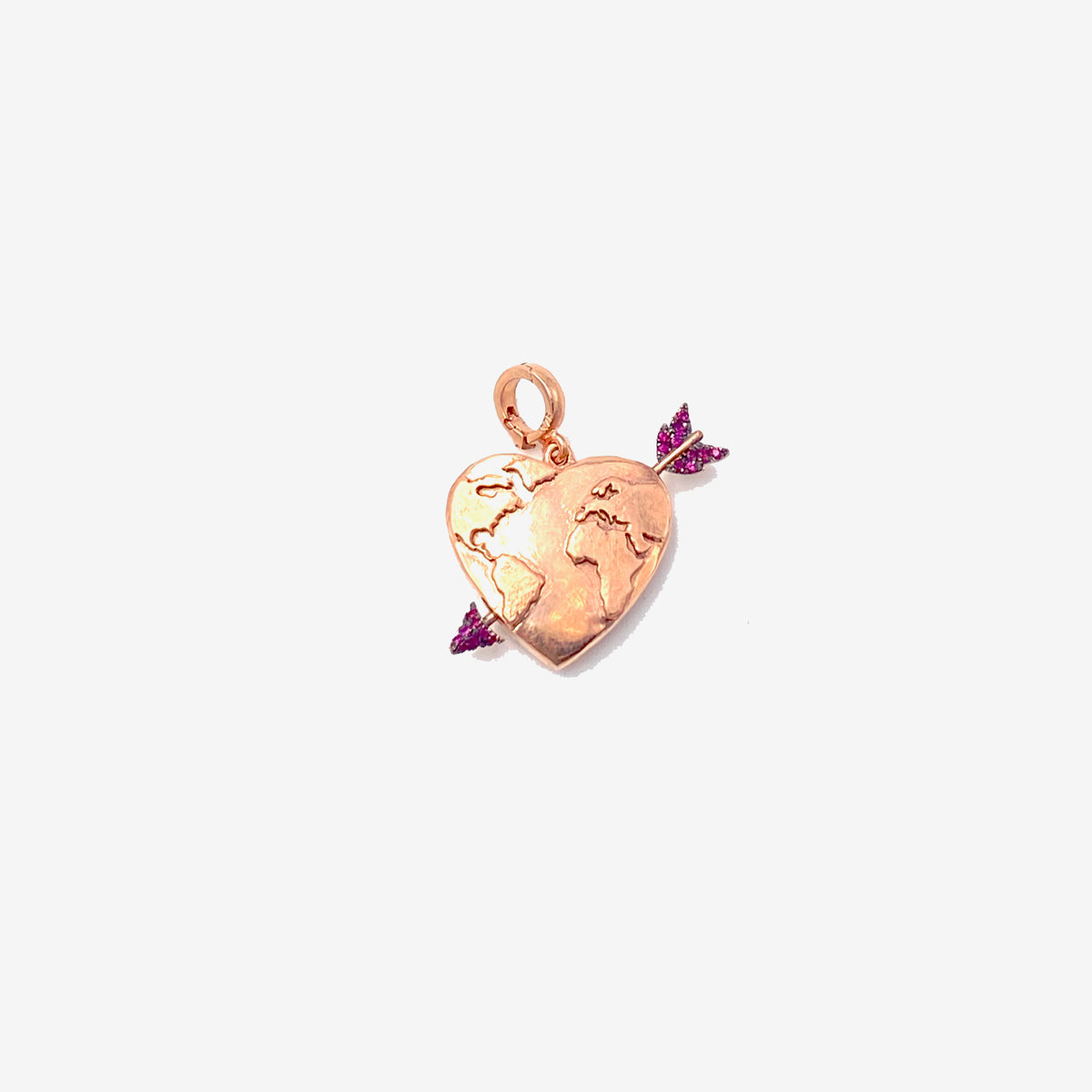 Earth Heart Charm