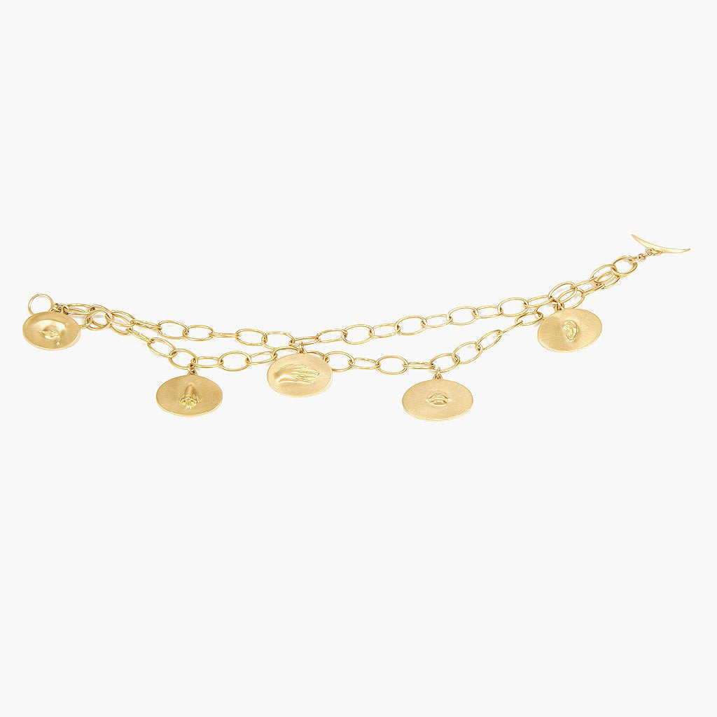 Golden Token Bracelet