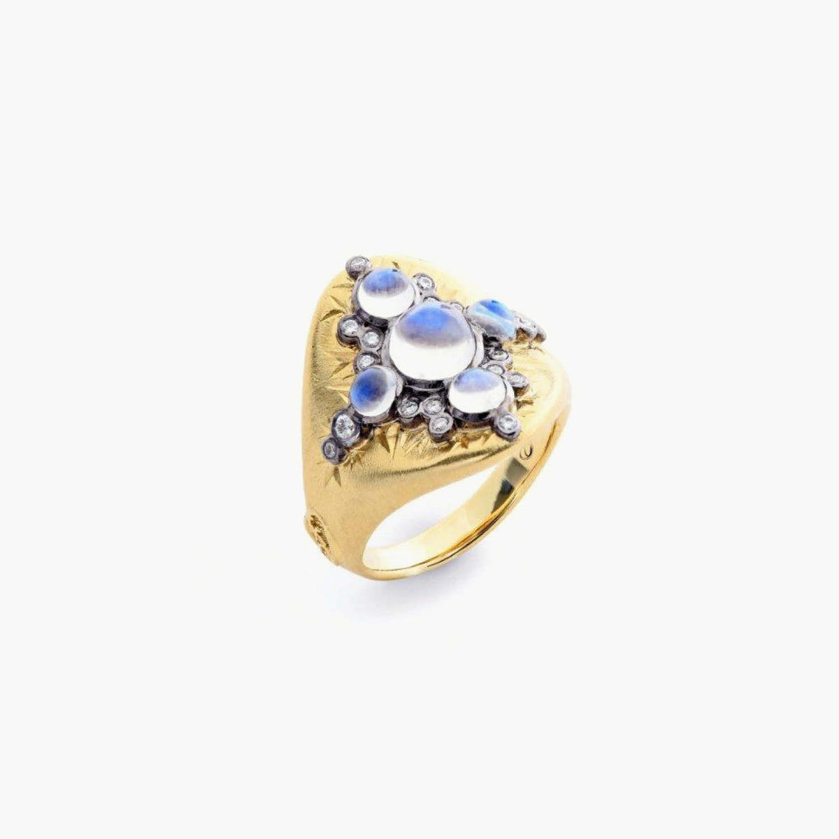 Constellation Collection Blue Moonstone Ring