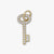 Key Charm with Diamonds