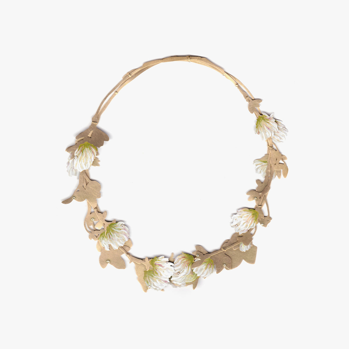 White Clover Necklace