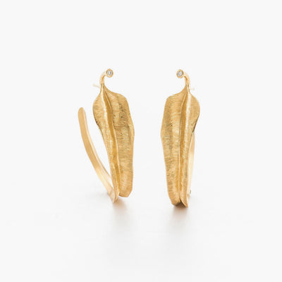 Creol Leaf Earrings