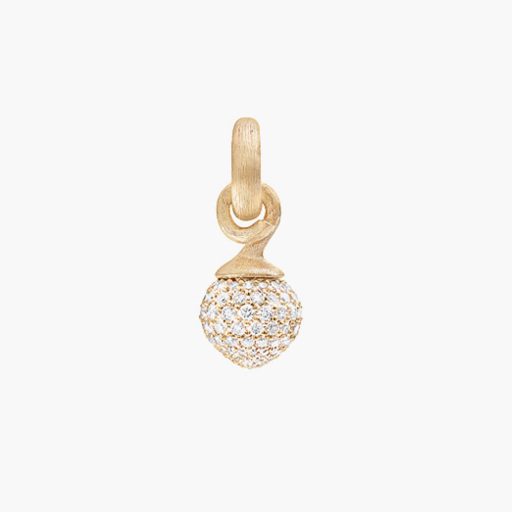 Pave Diamond Sweet Drops Charm