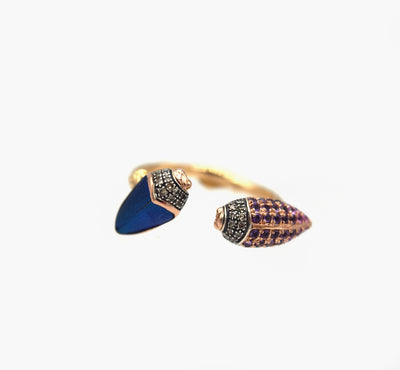 Floaty Scarab Ring