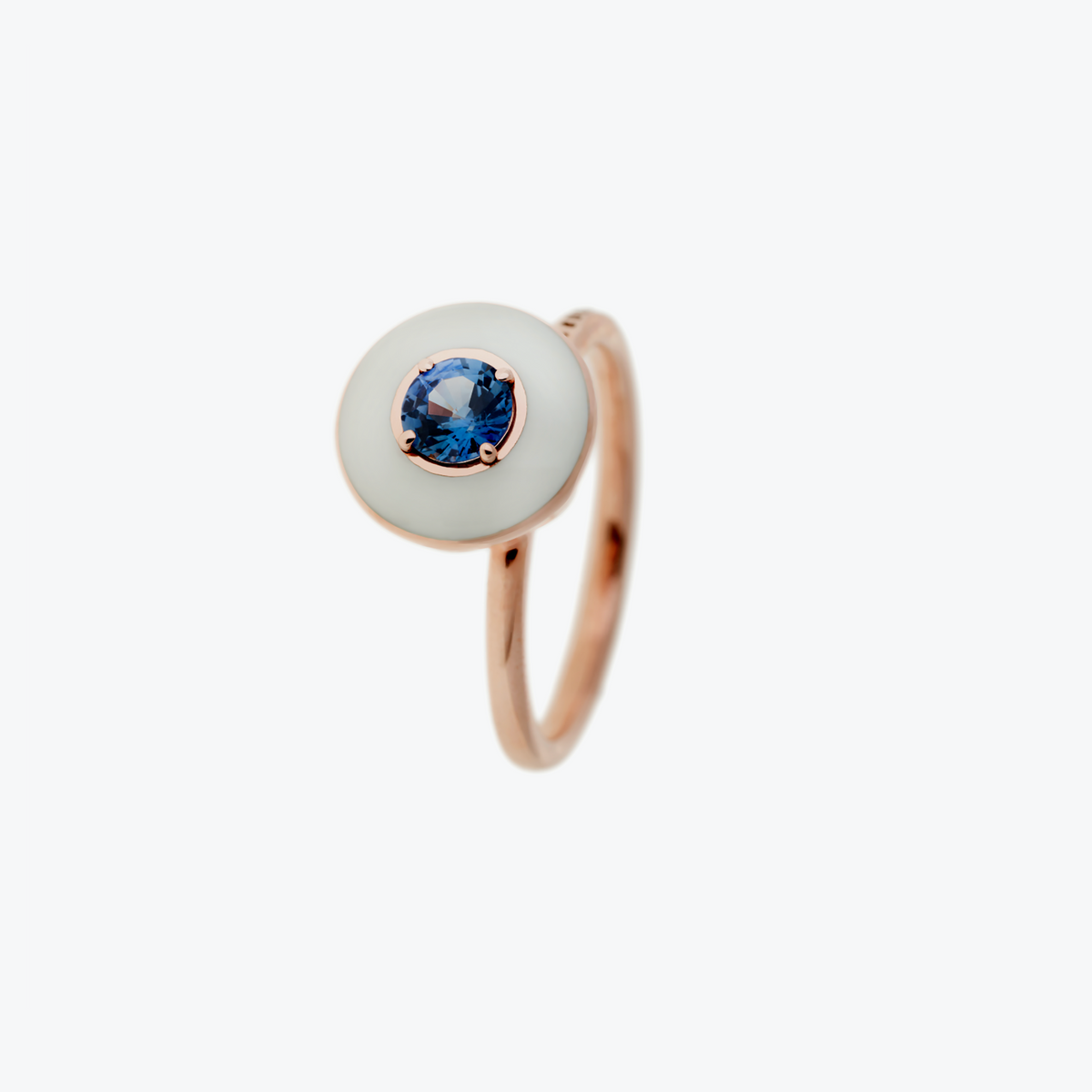 Mina Ring with Blue Sapphire