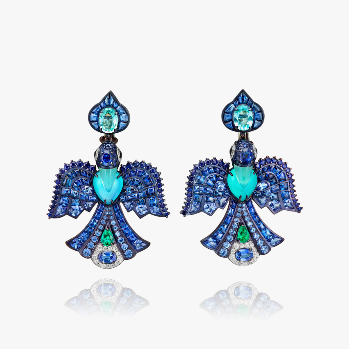 Caravans Lointaines Bird Earrings