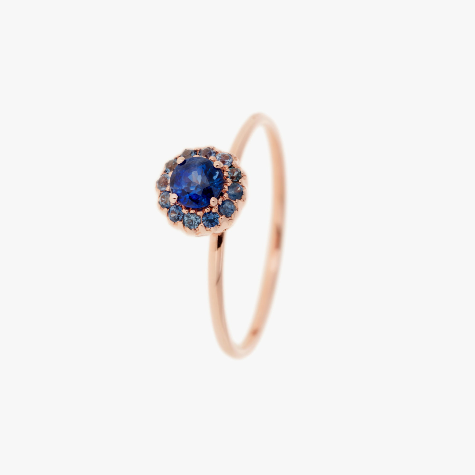 Beirut Small Blue Sapphire Ring