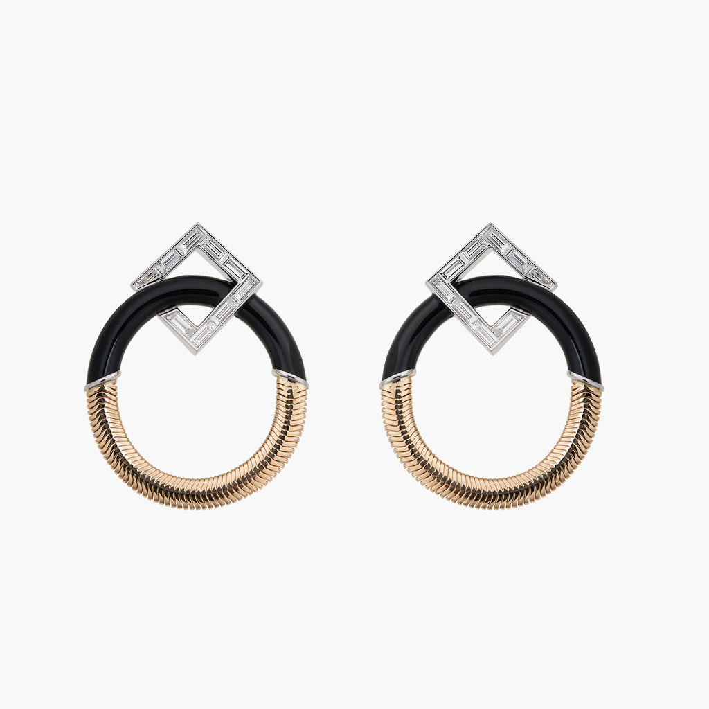 Feelings Collection Hoop Earrings