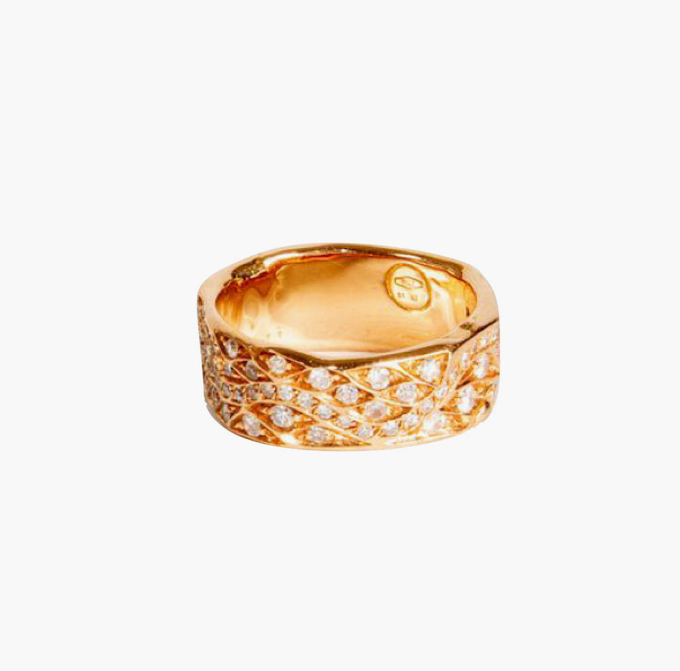 Fede Diamond Band Ring