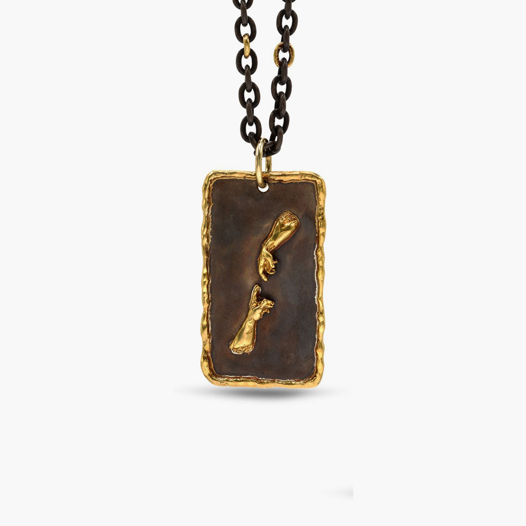 Creation of Adam Patina Pendant & Chain