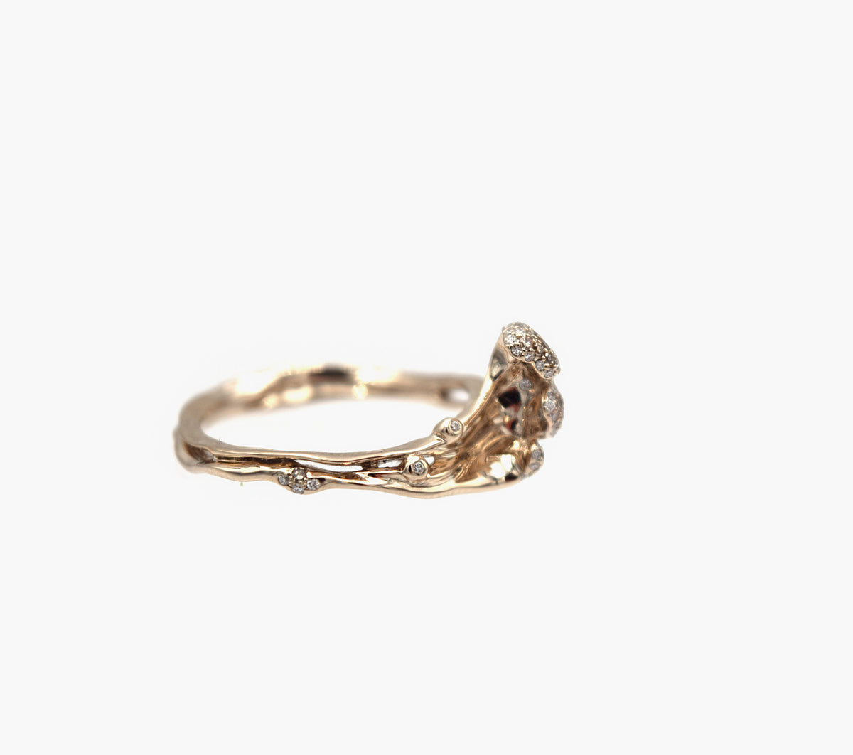 Wave Stackable Ring-Large