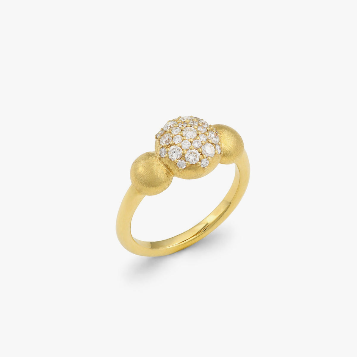 Small Constellation Ring with Diamonds