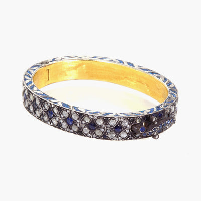 Bangle  with Sapphires and Diamonds