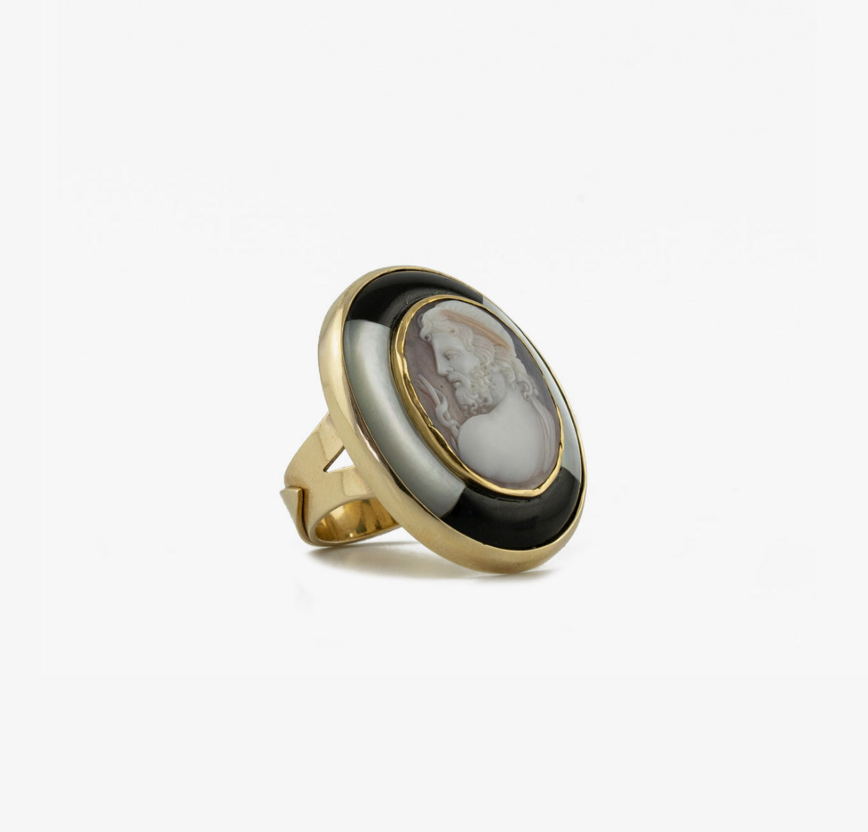 Asclepio Cameo Ring