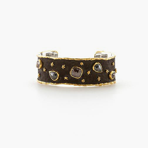 Diamond & Star Cuff