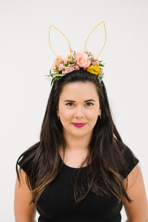 easter flower crown
