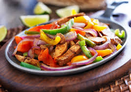 Chicken Fajitas with Rice & Vegetables