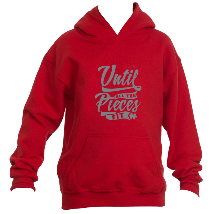 Until All The Pieces Fit Kids Hoodie