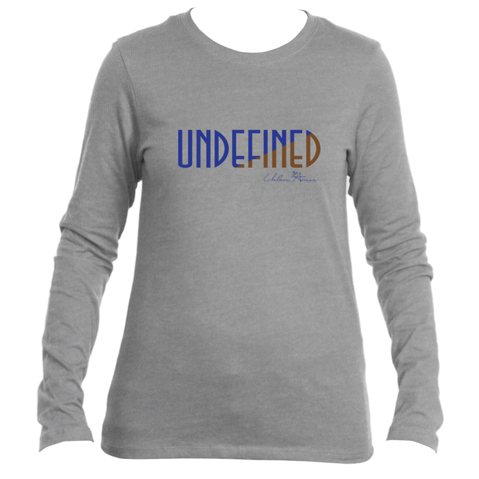Undefined Ladies Long Sleeve T-Shirt