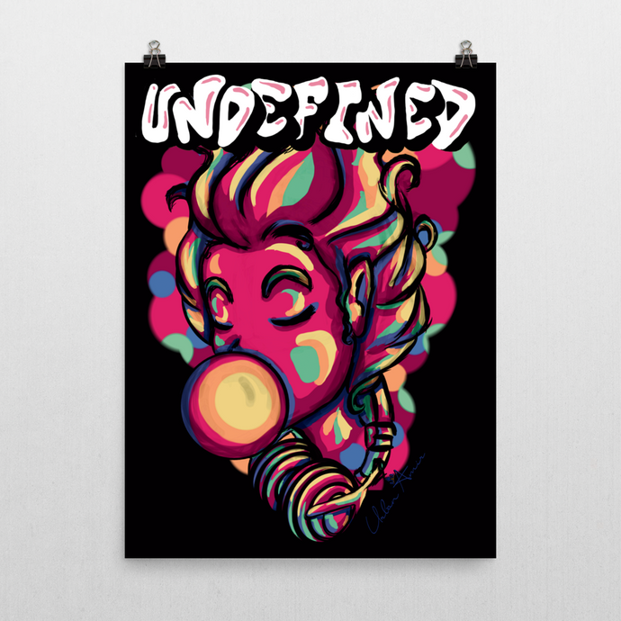 Undefined Pink Poster (B) 18