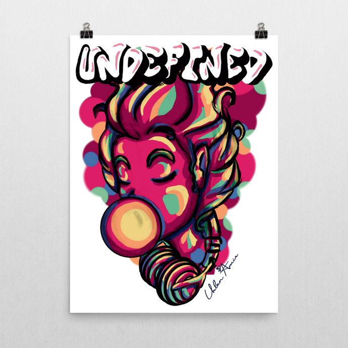 Undefined Pink Poster 18