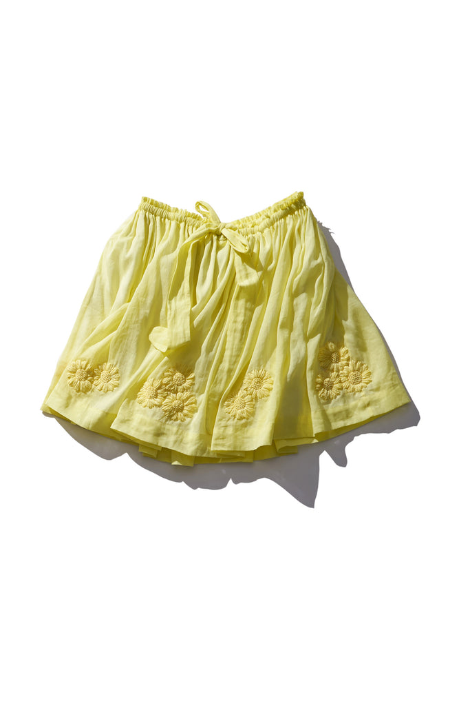 Terry Belle Zest Ramie Skirt