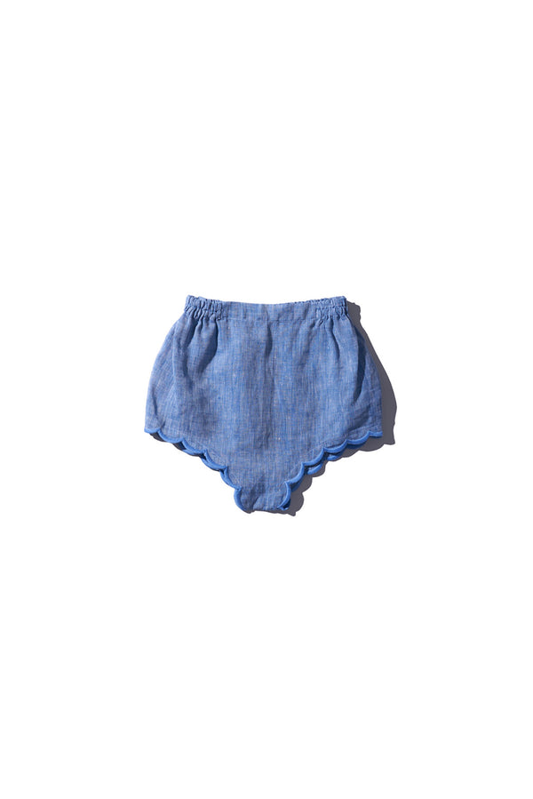 Girls Bloomers - Wilma Butfiet in Chambray - Innika Choo