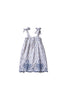 Girls Multi Wear Dress or Long Skirt - Nev Erontym in Copen Ikat - Innika Choo
