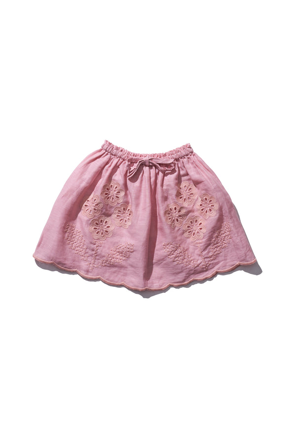 Girls Mini Skirt  - Terri Belle in Candy floss - Innika Choo