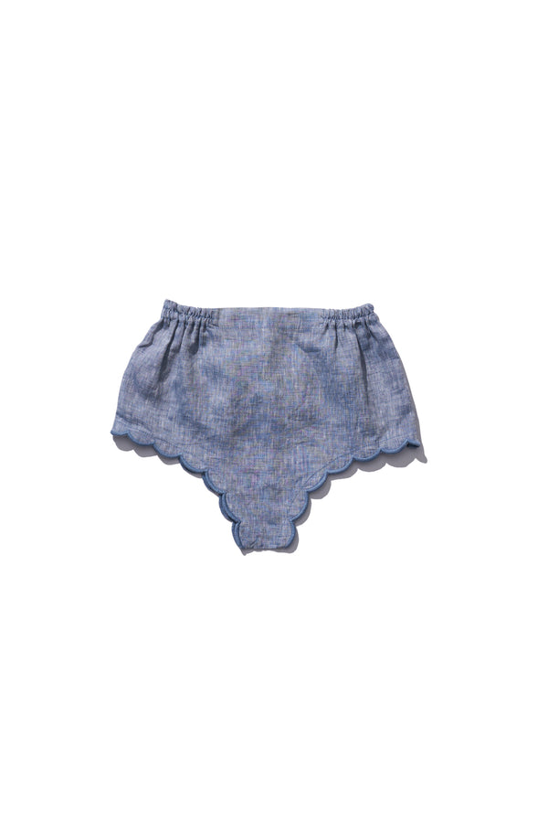 Girls Bloomers - Wilma Butfiet in Grey Melange - Innika Choo