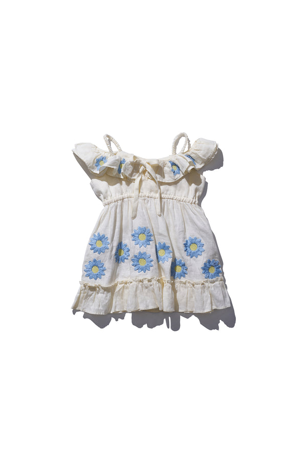 Kids Noah Deeiah Off White - Kids Frill Neck Mini