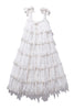 Scallop Frill Dress - Iva Biigdres Milk Large Check PRE-ORDER JAN - Innika Choo