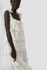 Scallop Frill Dress - Iva Biigdres Milk Large Check  - PRE-ORDER - Innika Choo