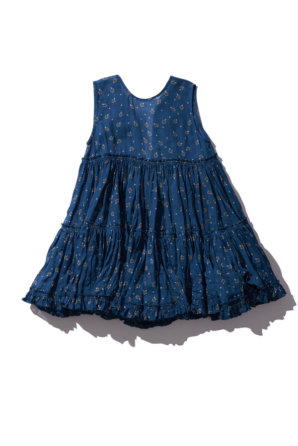 Big Tier Frock Dress - Izzy Werthit in Copen PRINT - Innika Choo